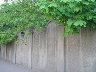 Fragment du mur du ghetto juif