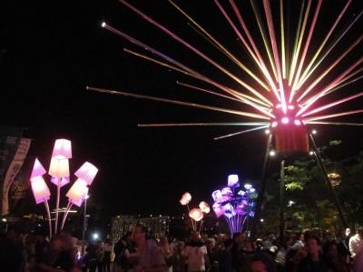 Festival de la Lumière à Jérusalem. Photo de Sarah Lalou Lessing