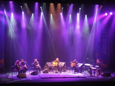 Concert de Tomatito à Ashdod. Photo de Sarah Lalou Lessing